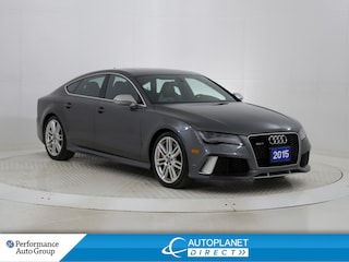 2015 Audi RS 7 4.0T Quattro, Navi, Sunroof, Skyview, Bluetooth! Hatchback
