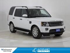 2015 Land Rover LR4 SCV6 4x4, 7 Passenger, 360 SkyView Cam! SUV