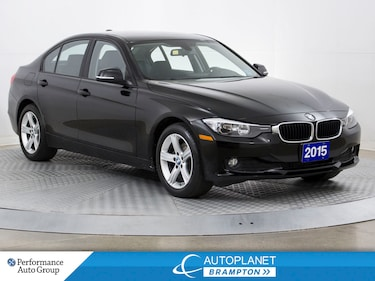 2015 BMW 320I xDrive Turbo, Navi, Memory/Heated Seats! Sedan