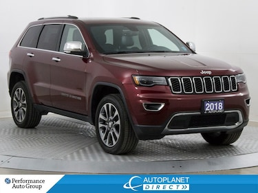2018 Jeep Grand Cherokee Limited 4x4, Luxury Group II, Navi, U-Connect! SUV