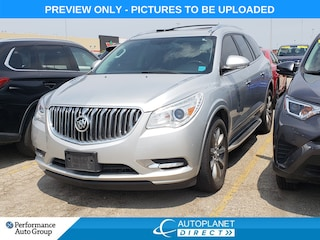 2013 Buick Enclave Leather Group, Sunroof, DVD, Heated Seats! SUV
