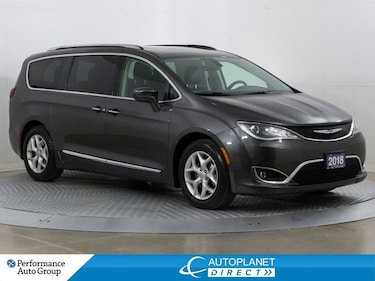 2018 Chrysler Pacifica Touring-L Plus, Back Up Cam, Remote Start, Leather Van Passenger Van