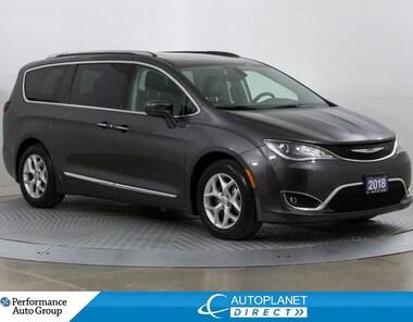 2018 Chrysler Pacifica Touring-L Plus, Back Up Cam, Remote Start, Leather Van Passenger Van