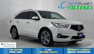 2017 Acura MDX AWD, Elite Pkg, Navi, DVD, Surround View Cam!