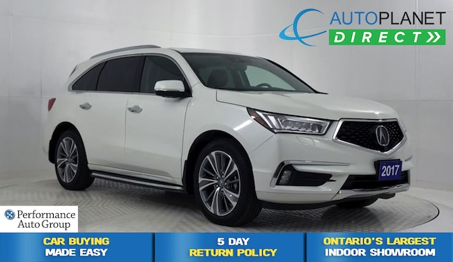 2017 Acura MDX AWD, Elite Pkg, Navi, DVD, Surround View Cam! SUV