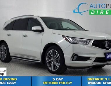 2017 Acura MDX AWD, Elite Pkg, 7 Passenger, Navi, Sunroof, DVD! SUV