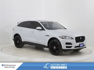 2017 Jaguar F-Pace 35t Premium AWD, Navi, Pano Roof, Back Up Cam! SUV