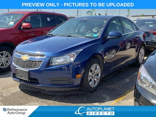 2013 Chevrolet Cruze LT Turbo, OnStar, Clean Carproof! Sedan