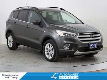 2018 Ford Escape SEL AWD, Canadian Tour Pkg, Navi, Pano Roof! SUV
