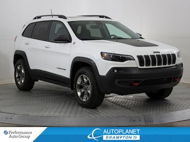 2019 Jeep Cherokee Trailhawk L+ 4x4, Back Up Cam, Pano Roof! SUV