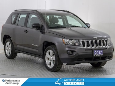 2017 Jeep Compass Sport, Alloys, Clean Carfax, Ontario Vehicle! SUV