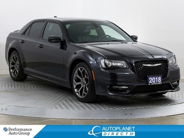 2018 Chrysler 300 S, Appearance Pkg, Navi, Pano Roof, Android Auto! Sedan