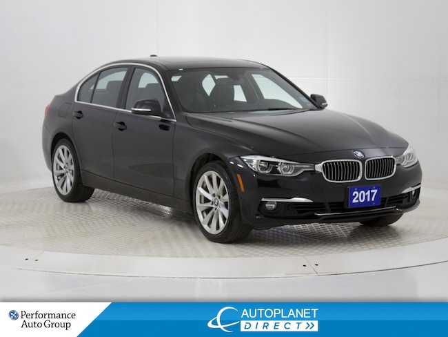 2017 BMW 320I xDrive, Navi, Sunroof, Heated Seats! Sedan