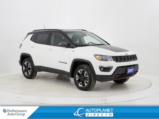2017 Jeep Compass Trailhawk 4X4, Navi, Back Up Cam, Remote Start! SUV