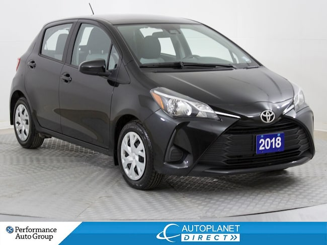 2018 Toyota Yaris LE, Back Up Cam, Heated Seats, Bluetooth! Hatchback
