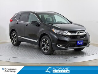 2018 Honda CR-V AWD, Touring, Navi, Leather, LOW KMS! SUV