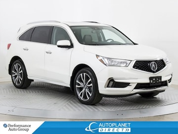 2019 Acura MDX AWD, Elite Pkg, Navi, DVD, Sunroof, Remote Start! SUV