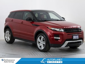 2015 Land Rover Range Rover Evoque Dynamic 4x4, Navi, Back Up Cam, Pano Glass Roof!