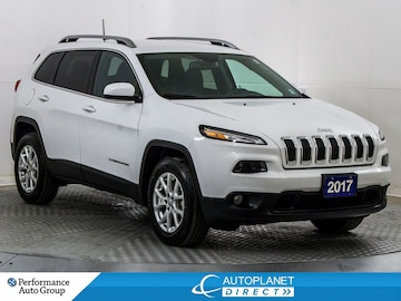 2017 Jeep Cherokee North 4x4, Navi, Back Up Cam, Remote Start! SUV
