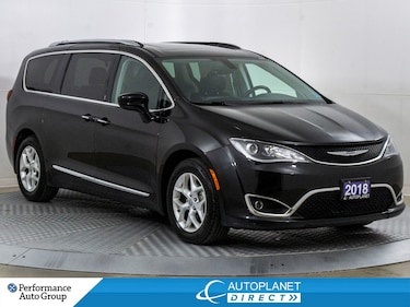 2018 Chrysler Pacifica Touring-L Plus, 7 Passenger, U-Connect, Pano Roof! Van Passenger Van