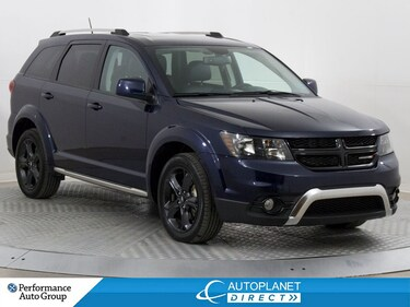 2018 Dodge Journey Crossroad AWD, Navi, Sunroof, DVD, Leather! SUV