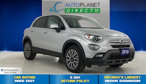 2016 FIAT 500X Trekking, Dual-Pane Sunroof, Remote Start!