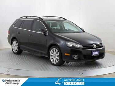 2014 Volkswagen Golf TDI, Highline, Heated Seats, New All Season Tires! Wagon