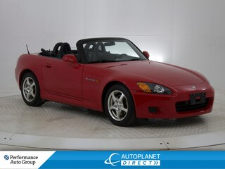 2003 Honda S2000 Convertible, Leather Sport Seats, Alloys! Convertible