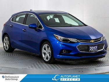 2017 Chevrolet Cruze Premier, Winter Package, Navi, Remote Start! Hatchback