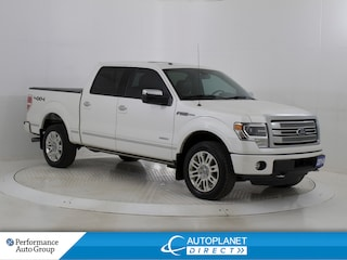 2014 Ford F-150 Platinum 4x4, Navi, Sunroof, Leather! Truck