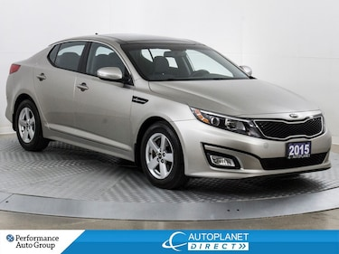 2015 Kia Optima LX, Pano Roof, Heated Seats, Bluetooth! Sedan