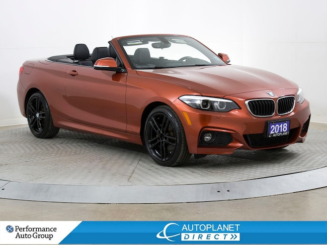 2018 BMW 230i xDrive, Soft Top Convertible, Navi, Back Up Cam! Convertible
