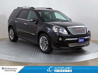 2012 GMC Acadia Denali AWD, Heads Up Display, Navi, DVD, Sunroof! SUV