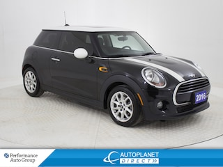2016 MINI Cooper 3 Door Cooper, Dual Moon Roof, Heated Seats, Bluetooth! Hatchback