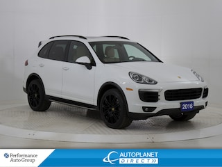 2016 Porsche Cayenne S AWD, Navi, Pano Roof, Back Up Cam! SUV