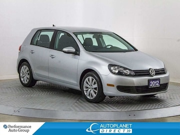 2012 Volkswagen Golf Comfortline, Heated Seats, Clean Carfax! Hatchback