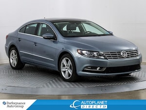 2013 Volkswagen CC Sportline, Sunroof, Back Up Cam, Heated Seats!