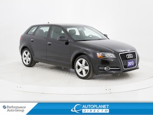 2013 Audi A3 2.0T Progressiv Front Trak, Moon Roof, Bluetooth!