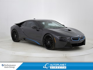 2014 BMW i8 xDrive, OEM BMW Rims, Heads Up Display, 4 Pass.! Coupe