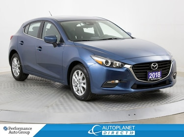 2018 Mazda Mazda3 GS, Sunroof, Back Up Cam, Heated Seats! Hatchback