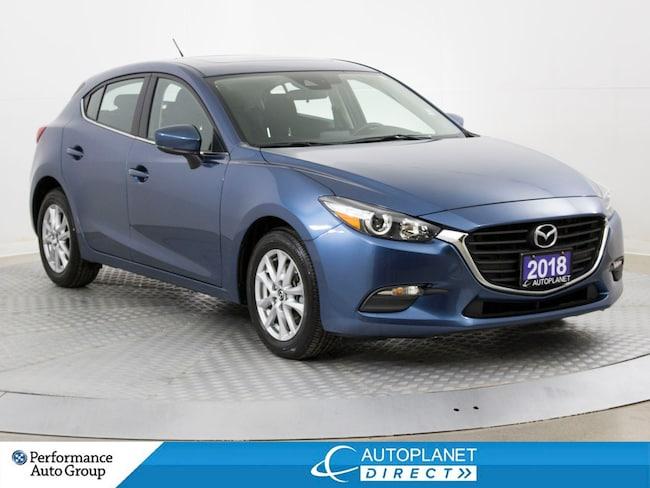 2018 Mazda Mazda3 GS, Sunroof, Back Up Cam, Heated Seats! Hatchback