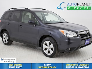 2014 Subaru Forester 2.5i AWD, Convenience Pkg, Back Up Cam! SUV