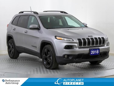 2018 Jeep Cherokee Limited High Altitude, SafetyTec +Tech+Luxury Grp! SUV