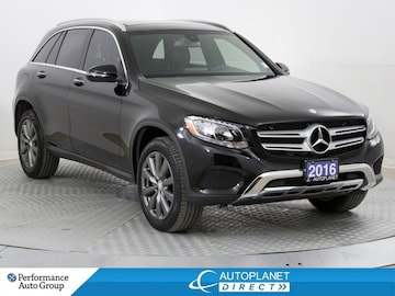 2016 Mercedes-Benz GLC300 4MATIC, Premium+, Navi, Pano Roof, Heated Seats! SUV