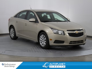 2011 Chevrolet Cruze LT Turbo, Clean Carproof, Cruise Control! Sedan