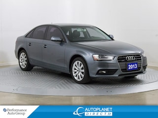 2013 Audi A4 2.0T Quattro, Moon Roof, New All Season Tires! Sedan
