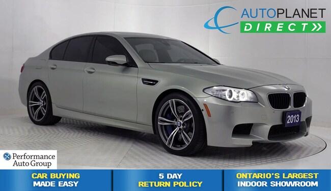 2013 BMW M5 Navi, Heads Up Display, Night Vision System! Sedan