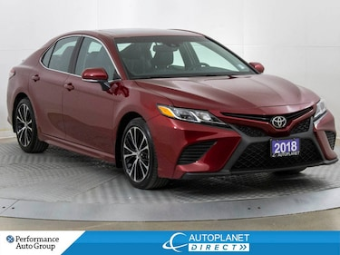 2018 Toyota Camry SE, Back Up Cam, Heated Seats, Bluetooth! Sedan