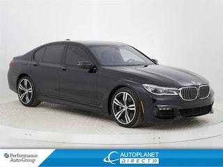 2016 BMW 750I xDrive, Executive + M Pkg, Navi, Massage Seats! Sedan