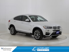 2017 BMW X4 xDrive28i, Navi, Sunroof, Heated Front/Rear Seats! SUV